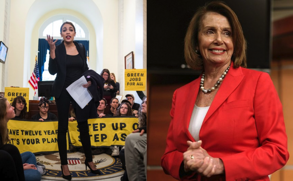 Nancy Pelosi Takes Down Rep. Alexandria Ocasio-Cortez