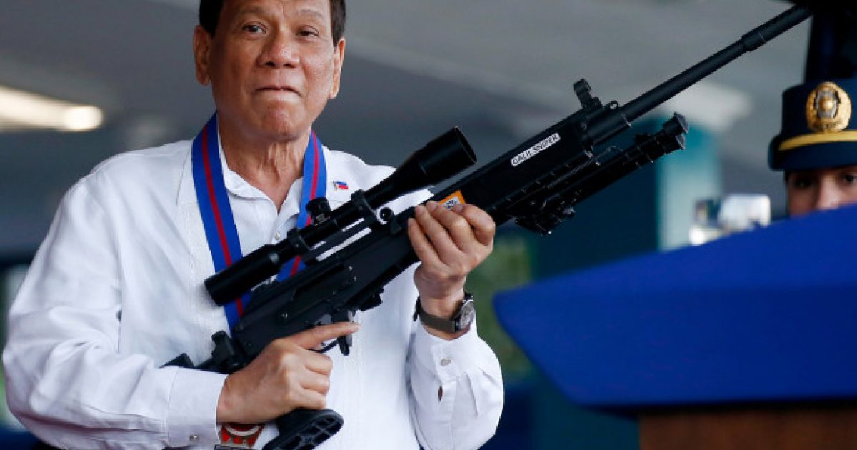 Reverse Gun Control: The Philippines Wants to Hand Out Free Guns to the Public to Fight Drugs and Crime - Think Americana