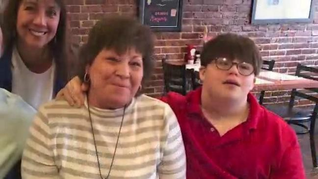Massachusetts Teacher adopts student with down syndrome