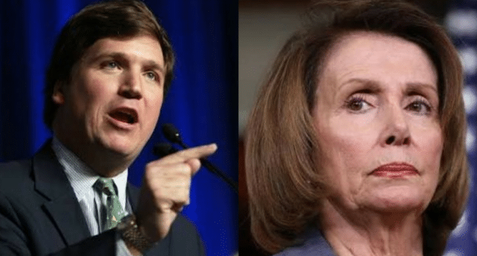 tucker carlson nancy pelosi