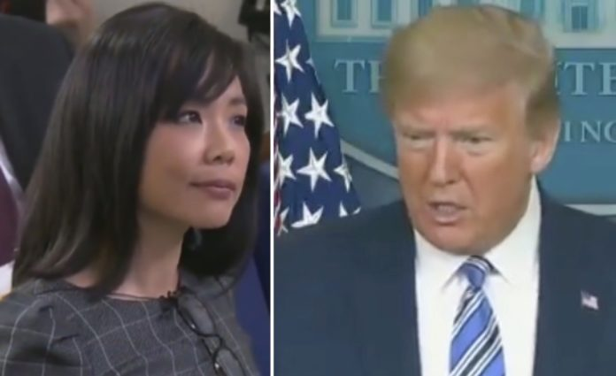 trump to jiang keep your voice down