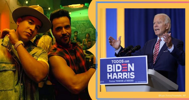 joe biden latino, joe biden despacito