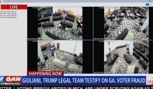 BREAKING! Surveillance Video Shows Suitcases Full of Ballots Pulled Out After GOP Workers Left (VIDEO)
