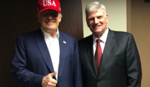 Franklin Graham Ruffles Feathers with Tribute to Trump: 'I Miss this Guy … Pray for Him'