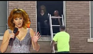 WATCH: Stairs Collapse in Old Building, Trapping Actress Reba McEntire and Boyfriend Inside