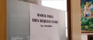 WATCH: University of Connecticut Professor Forces Students to Praise Allah Before They Can Enter His Office