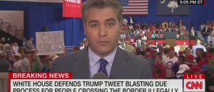 WATCH: CNN's Jim Acosta Gets Harsh Treatment at Trump Rally in SC
