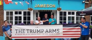 London Pub Makes a Statement by Changing their Name to Honor Trump Visit