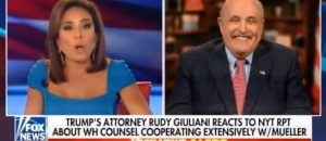 WATCH: Rudy Giuliani: 'Mueller Team Is Panicking. They Know They Don't Have A Case'