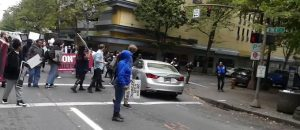 WATCH: Antifa Takes Over Traffic in Portland, Chases Down Elderly Driver