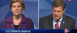 WATCH: Sen. Elizabeth Warren's Opponent Brings Up Her Ethics Charge During Debate