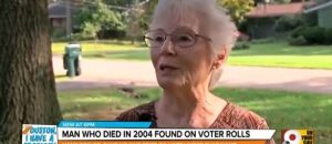 WATCH: Ohio Poll Worker Finds Her Dead Neighbor On Active Voter List