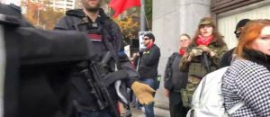 WATCH: Antifa Thugs Armed With AR15s Intimidate Journalist at Seattle Rally - 'Are You Willing to Die For Your YouTube Sh*t?'