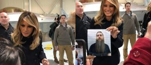 Veteran Unable to Attend Event With First Lady Melania - She Still Took a Photo With Him