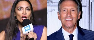 Alexandria Ocasio-Cortez Tells Howard Schultz He Should 'Work' His 'Way Up,' Then Gets Destroyed by Facts