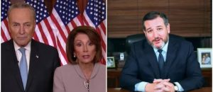 WATCH: Ted Cruz With Hilarious Response to Pelosi and Schumer's Awkward Video