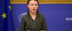 Teen Activist Tries to Scare European Parliament: 'I Want You to Panic'