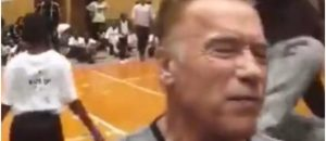 WATCH: Arnold Schwarzenegger Brutally Attacked Overseas by Deranged Lunatic, All Caught on Tape