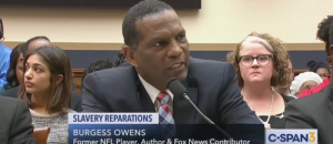 Former NFL Player Calls BULL on Reparations