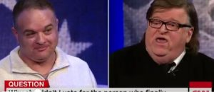 Chrysler Employee Shuts Michael Moore Down