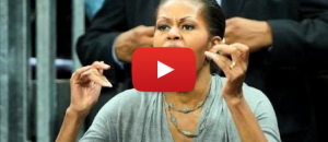 Watch Michelle Obama Humiliate Herself