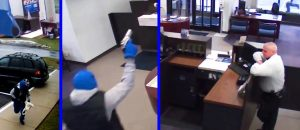 Thug Tries to Rob the Bank and Gets Shot Dead - VIDEO