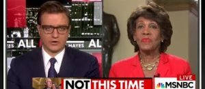 Maxine Waters Makes Insane Claim About Loss of Obamacare - VIDEO