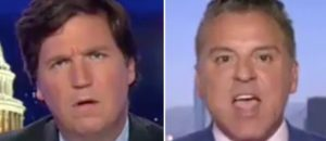 "Tucker Carlson Tears Into Civil Rights Attorney: ""You're a Fascist!"" - VIDEO"