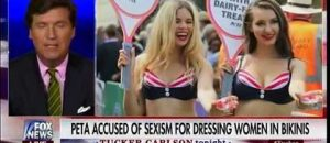 Feminist Triggered by Bikinis - Tucker Carlson Hits Her With Logic - VIDEO