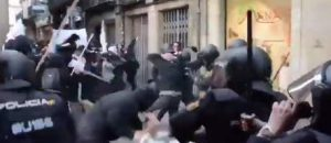 Spanish Police With a Tutorial For US Law Enforcement on Handling Antifa - VIDEO