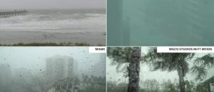 Four Live Feeds of Hurricane Irma - Orlando, West Palm Beach, Kissimmee, Sunglow Pier - LIVE