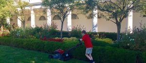 New York Times Reporter Rips Trump For Allowing 10-Year-Old To Mow White House Lawn