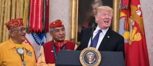 Navajo Code Talker Responds To Trump Calling Elizabeth Warren 'Pocahontas'