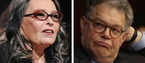 Roseanne Barr Blasts Al Franken For Blaming His Pervertedness On Trump