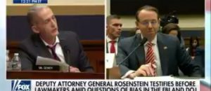 Trey Gowdy Goes Off On Rosenstein About DOJ - VIDEO