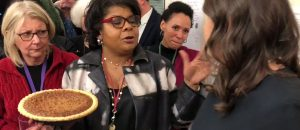 Sarah Huckabee Sanders Embarrasses April Ryan - Delivers Homemade Pecan Pie - VIDEO