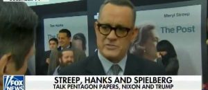 Tom Hanks Rips Trump: Trump Admin Is 'Waging A Guerrilla War On The First Amendment' - VIDEO