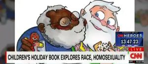 CNN Promotes Children's Book That Features A Gay Santa
