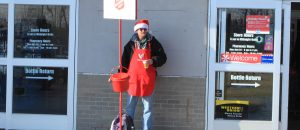Salvation Army Bell Ringer Beaten Down For Wishing Merry Christmas - VIDEO