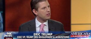 Eric Trump Asked If His Dad Is Racist. His Response Was Incredible - VIDEO