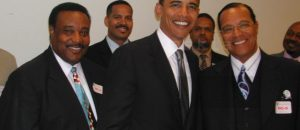 Photo Of Obama Smiling With Black Nationalist Hate Group Leader Louis Farrakhan Emerges
