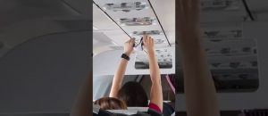 WATCH: Viral Video Of Flight Passenger Airing Out Her Underwear On Commercial Flight