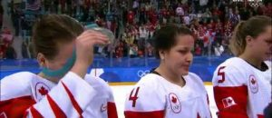 WATCH: Sore Loser! Canadian Women's Hockey Player Takes Off Silver Medal After Loss