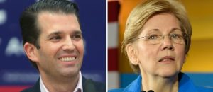 Donald Trump Jr. Trolls Elizabeth Warren on Twitter