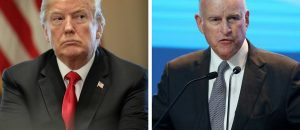 Governor of California Criticizes The Wall, Trump Rips Him