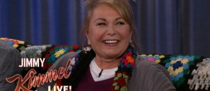 Roseanne Barr Deals Jimmy Kimmel Some Truth About Trump, Audience Applauds - VIDEO