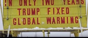 Store Sign Trolls Climate Change Hand-Wringers - VIDEO