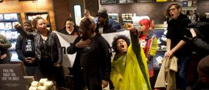 Protests Continue Outside Philadelphia Starbucks, In Response Manager Who Called Cops on Two Black Men is Let Go