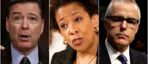 DOJ Feud: Comey Battles with Lynch, McCabe and Rosentein